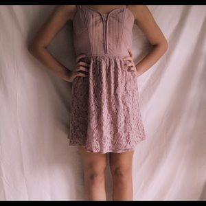 Lacey Purple American Eagle Dress